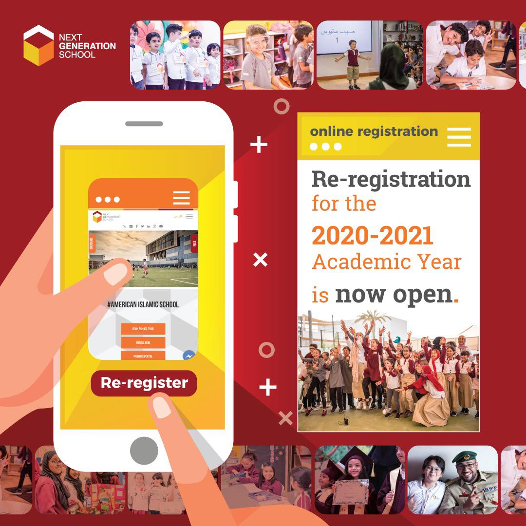 Re-Registration for 2020/2021 is now Open