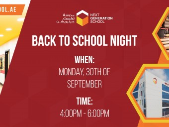 NGS Back to School Night