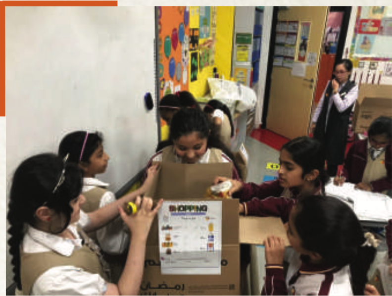NGS Students Participate in the Saahem Initiative by Royati Family Society
