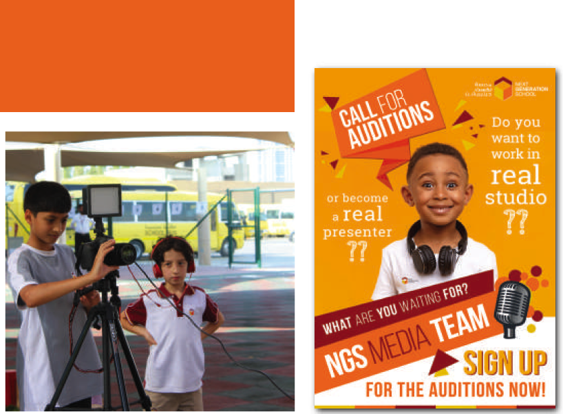NGS Media Team Opens Auditions for Students