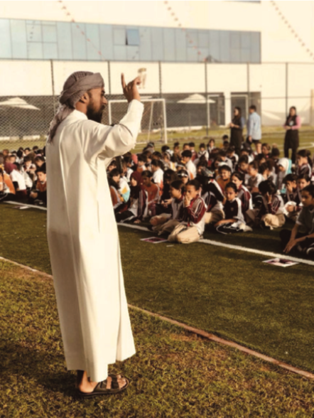 Islamic Department holding motivational lectures for all students