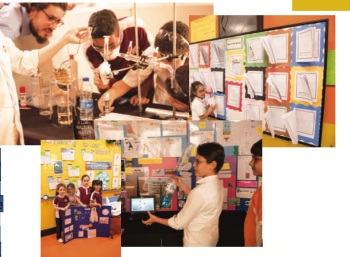 Alkhalij Newspaper writes 1400 Dubai Students Take Part in a PBL Exhibition