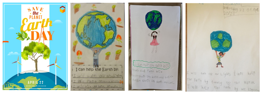 Earth Day Online Learning Activities