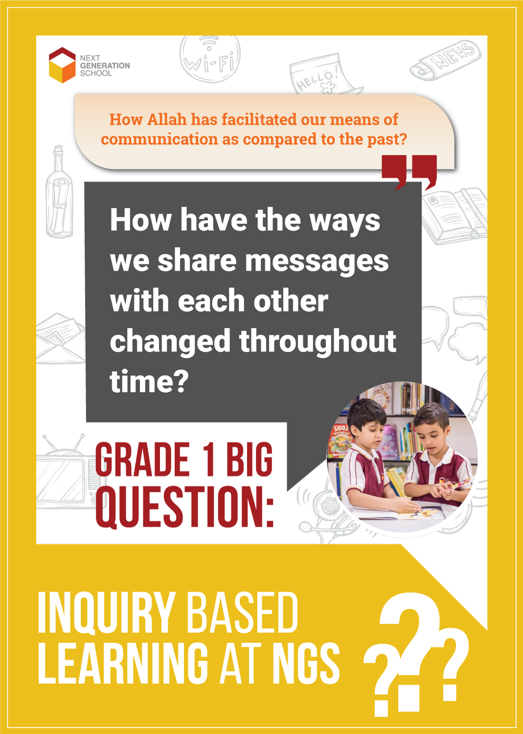 Grade 1 inquiries