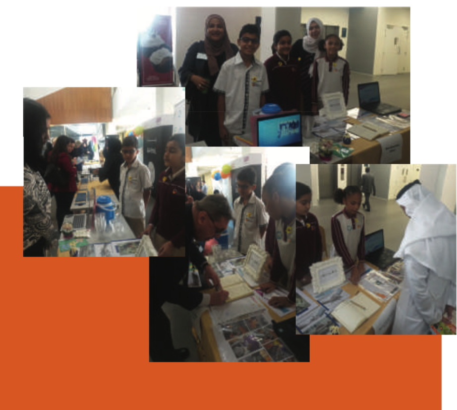 NGS Kidpreneurs Present their work at WWDubai by KHDA