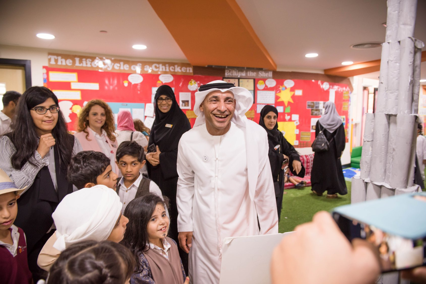 Dr. Abdullah Al Karam Attends Student Led Leadership Day