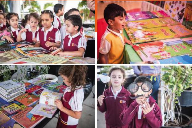 استضافت مدرسة نكست جينيريشن أسبوع معرض الكتاب السنوي