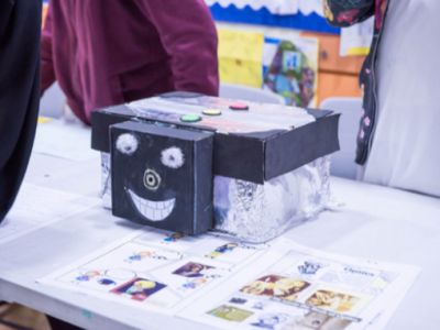 Grade 5 students build their own inventions inspired by Muslim inventors