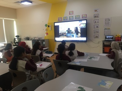 Grade 4 Students Experience Tolerance by e-Meeting Students from Taiwan and Learning About Their Cultural Differences