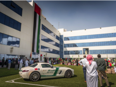 Dubai Police joins NGS Flag Day Celebrations