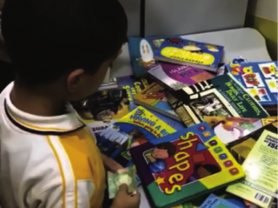 KG Students Sell Their Toys to Raise Money for Charity