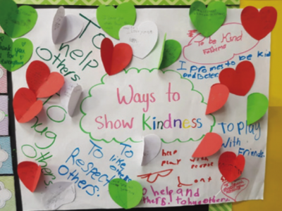 Students Pledge against Bullying during Month of Kindness at NGS