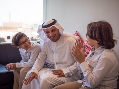 Dr. Abdullah Al Karam Attends Student Led Leadership Day