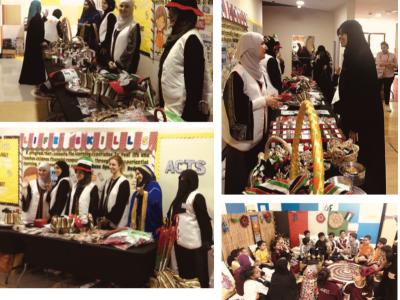 NGS Parents Association Team Holds UAE Workshops for Students