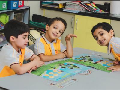 KG Students Successfully Settle in Classrooms
